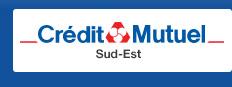 "Crédit Mutuel – Sud-Est <p class=""p1""><span class=""s1"">8-10, rue Rhin-et-Danube CP 111 - 69266 Lyon Cedex 09</span></p>"