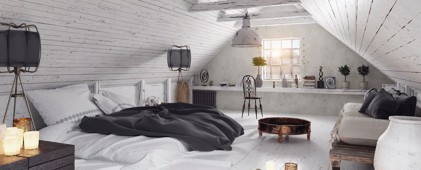 Comment aménager une chambre sous les combles