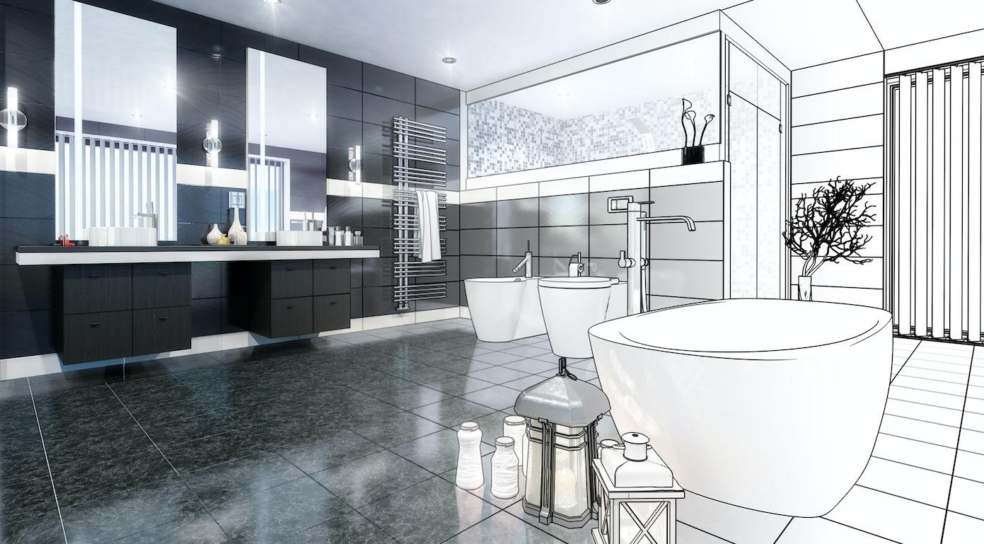 rénover la salle de bains de votre futur appartement