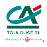 Crédit Agricole Toulouse 6, place Jeanne d'Arc  BP 4053531005  TOULOUSE CEDEX 6