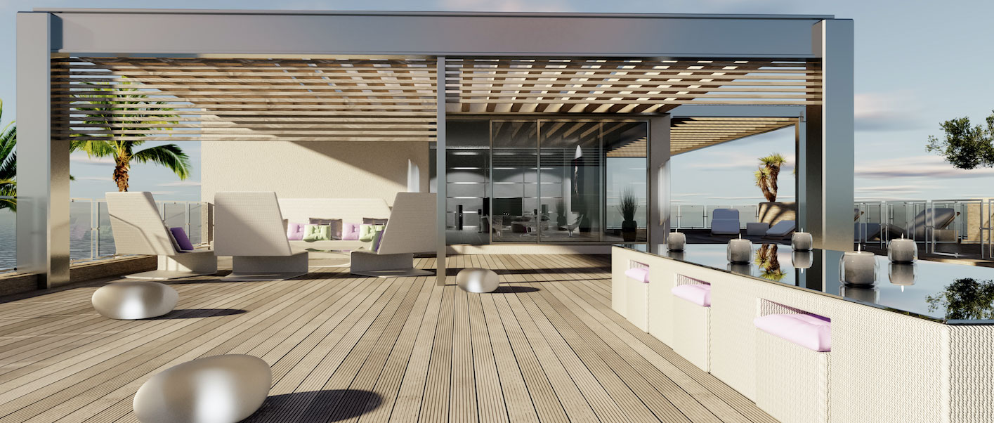 Picture of: Terrasse D Appartement 17 Idees Folles Pour Une Terrasse D Appartement A Couper Le Souffle