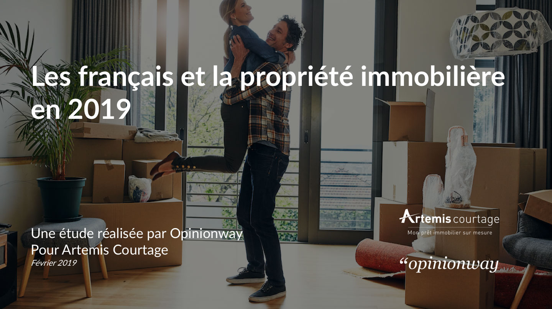 Les francais et la propriete immobiliere en 2019