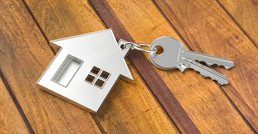 achat-maison-avec-deux-clés-de-maison