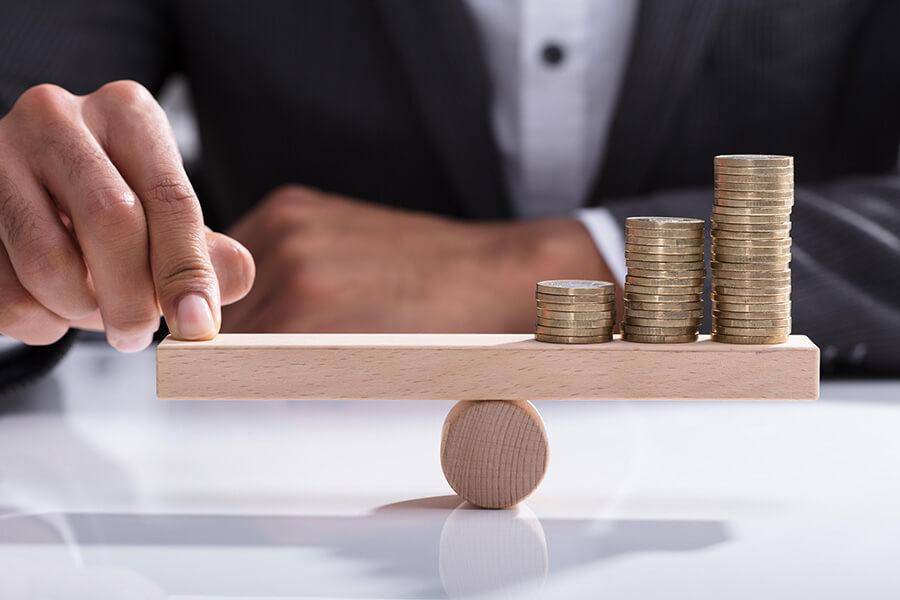 pieces-monnaie-en-equilibre-taux-immobilier